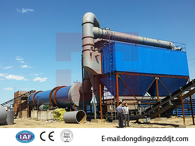Tailings Rotary Drum Dryer