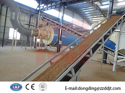 Crops Straw Dryer