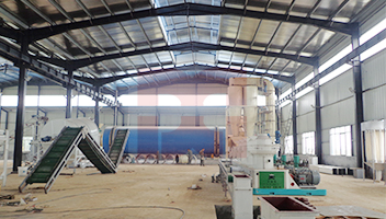 5t/h Sawdust drying project in Anhui