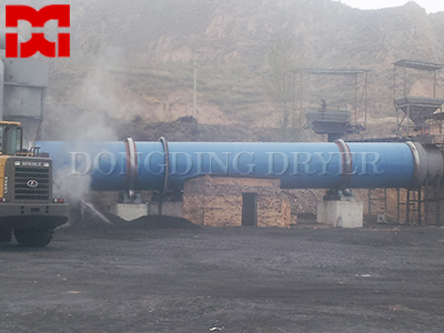 Coal Slag Rotary Drum Dryer
