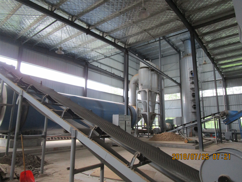Residue Rotary Dryer