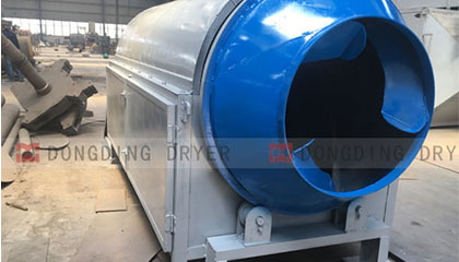Chicken Manure Dryer is shipped to Ghana