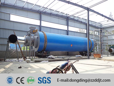 Triple Pass Rotary Drum Dryer